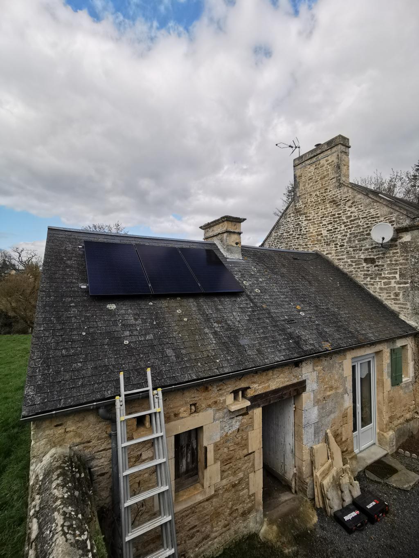 Installation panneaux solaires photovoltaïques 3kw - Autoconsommation