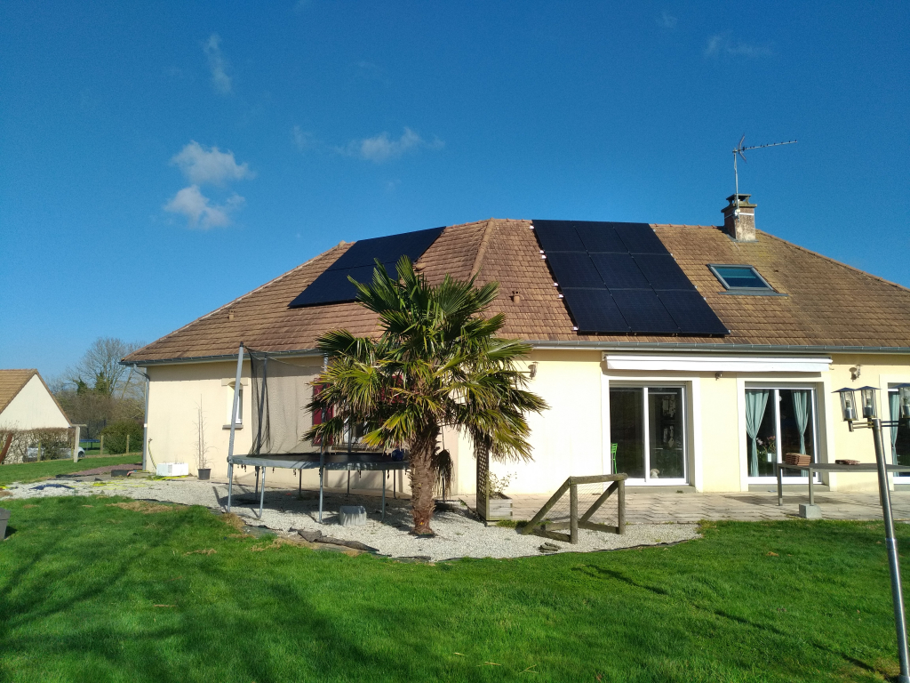 Installation panneaux solaires photovoltaïques 5kw - Autoconsommation
