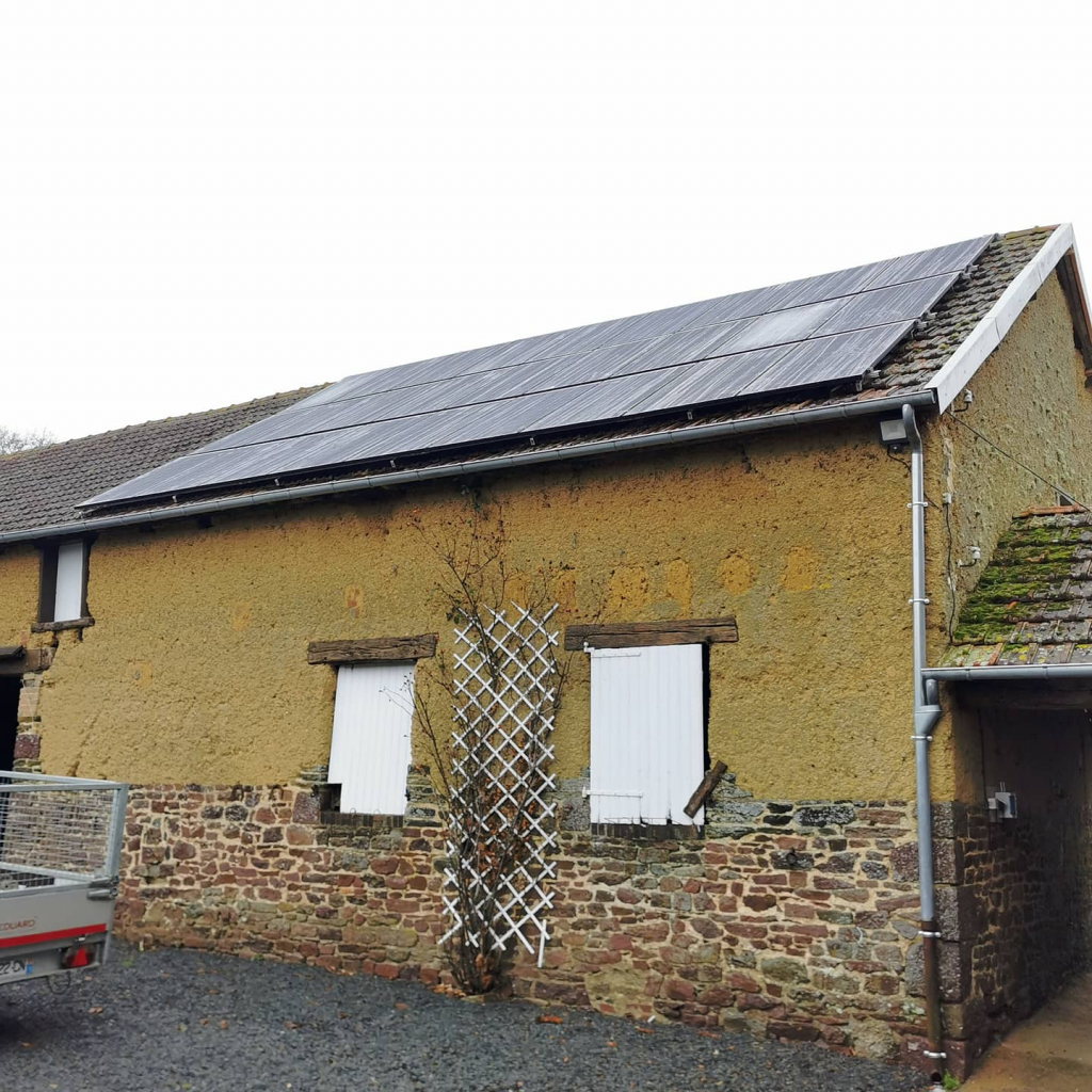 Installation panneaux solaires photovoltaïques 8,5kw - Autoconsommation-Manche (50)