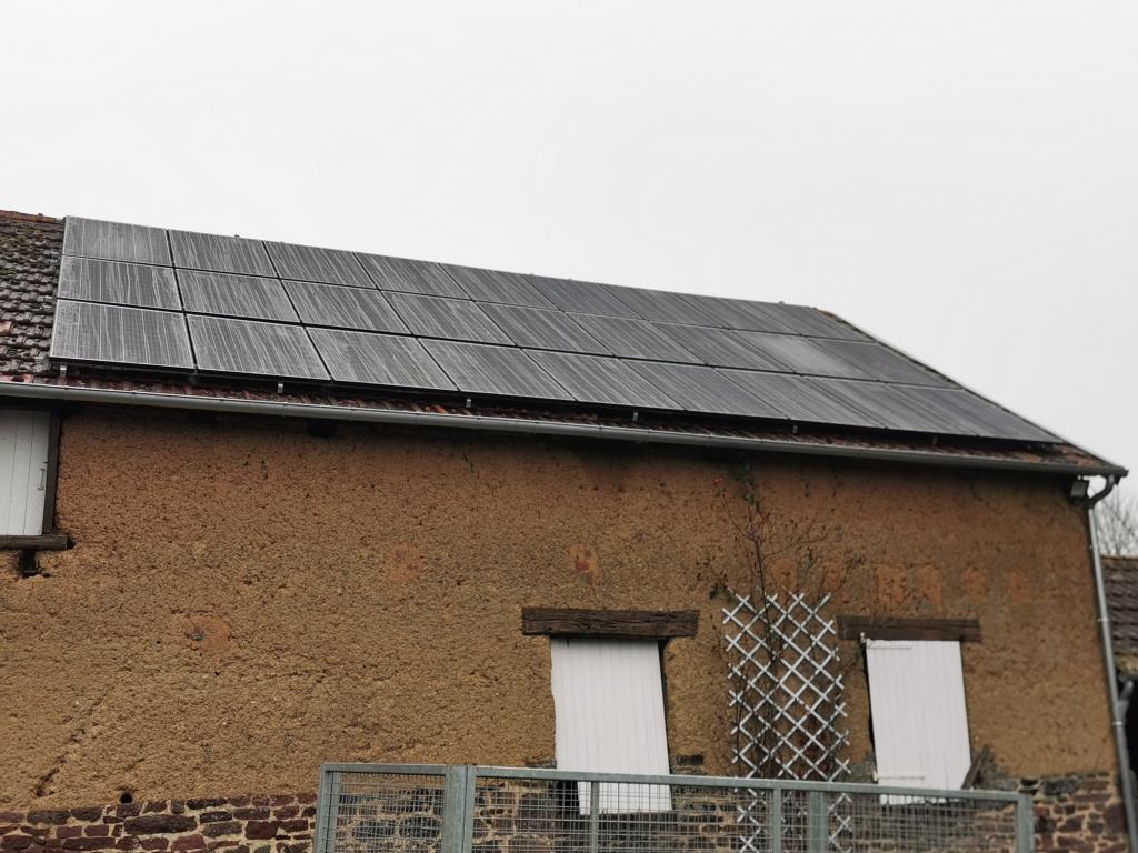 Installation panneaux solaires photovoltaïques 8,5kw - Autoconsommation