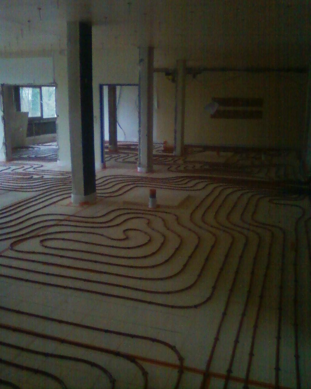 Installateur Solaricimes-Pose de plancher chauffant