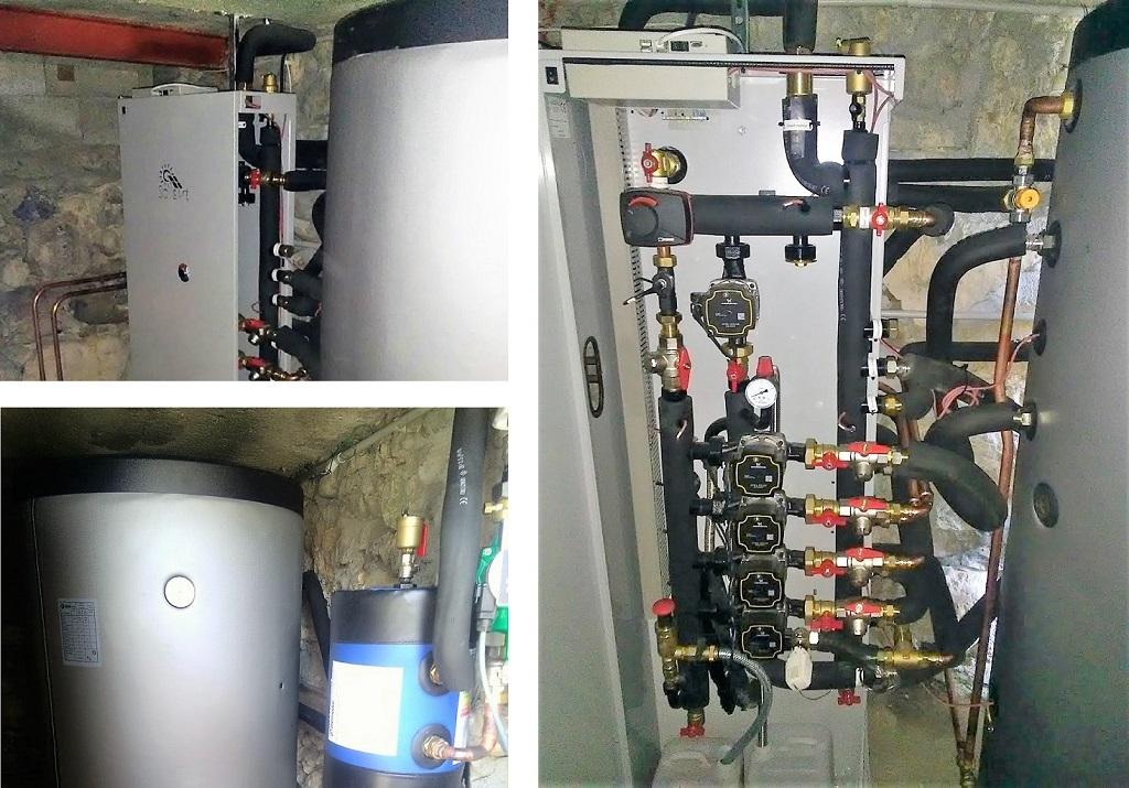 Installation panneaux solaires thermiques - SSC - SOLISART