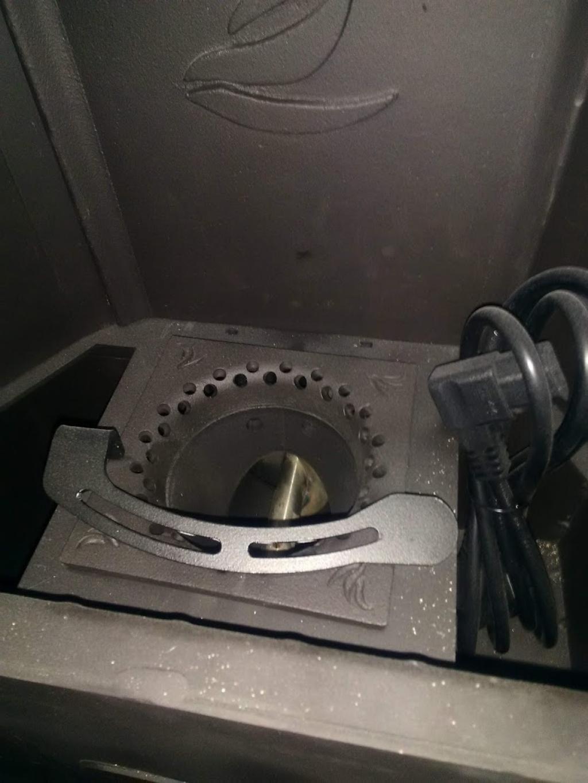 Installation pôele a granulés automatique DIELLE