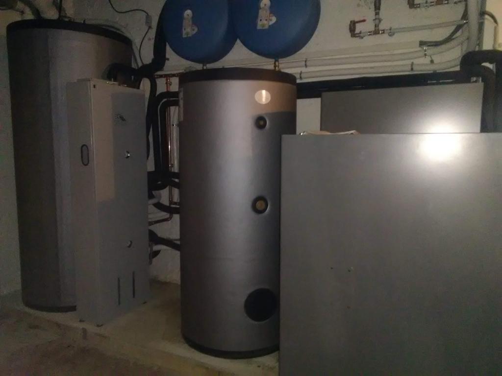 Installation chauffage à énergie solaire Thermique - SSC - SOLISART avec chaudière DOMUSA