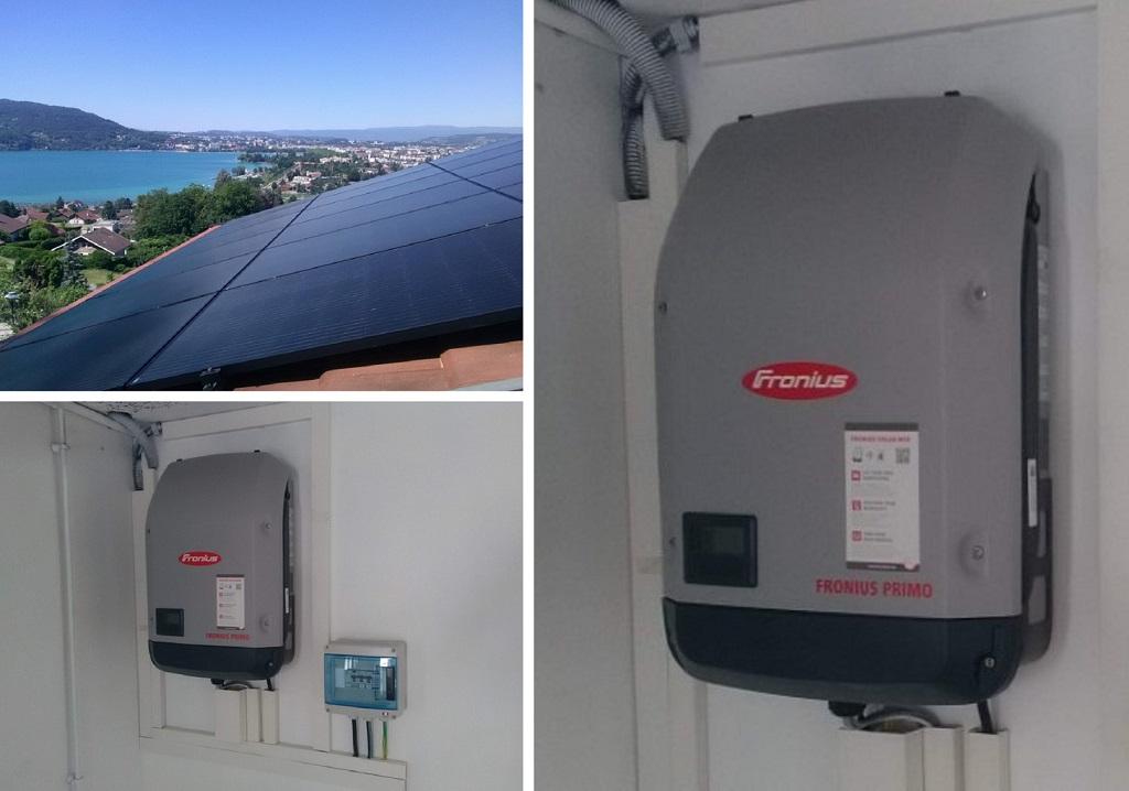 Installation panneaux solaire photovoltaique 5.94 kWc auto consommation avec vente surplus-Haute Savoie (74)