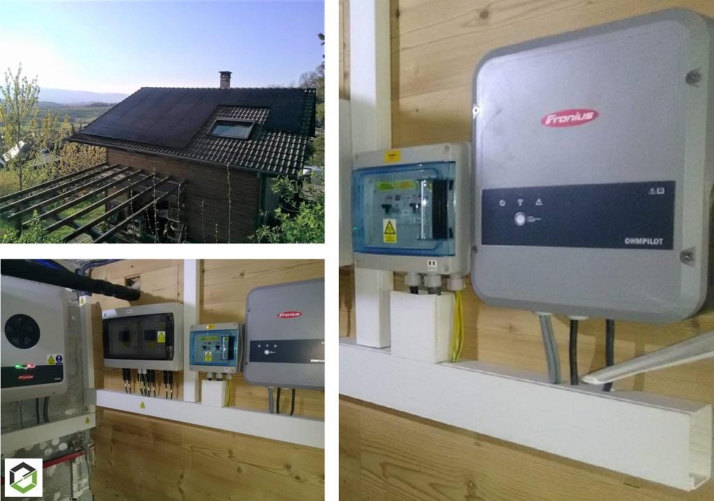 Installation panneaux solaire photovoltaique 6.935 kWc auto consommation avec vente surplus-Haute Savoie (74)