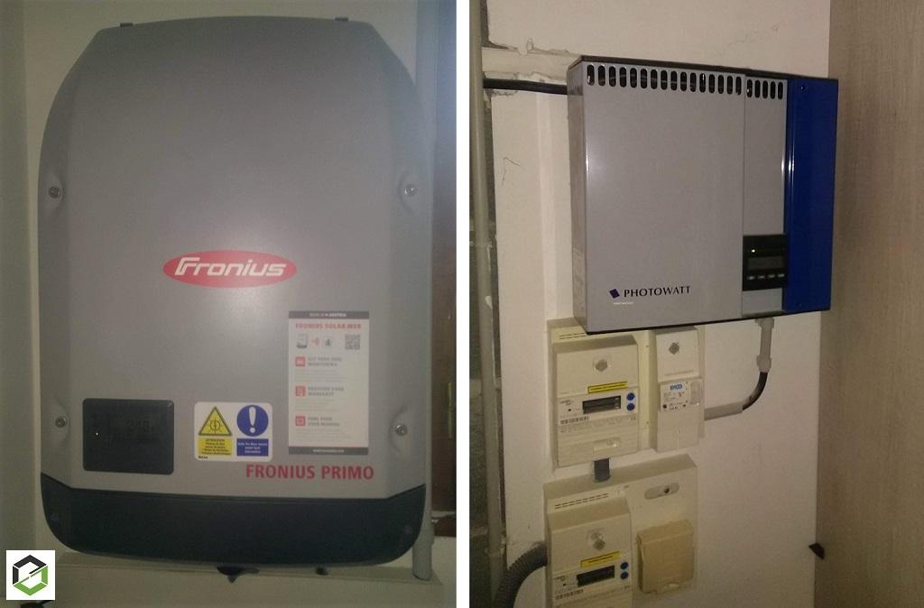 Dépannage installation photovoltaique-changement onduleur existant par un FRONIUS PRIMO 3.0-1