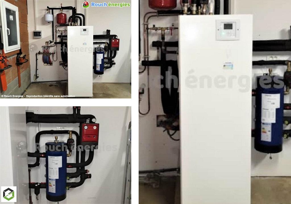 Installation pompe à chaleur double service près de St Gaudens