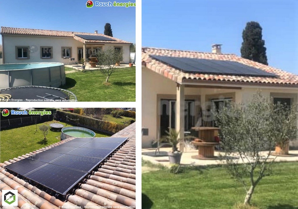 Installation de panneaux solaires photovoltaïques pour autoconsommation