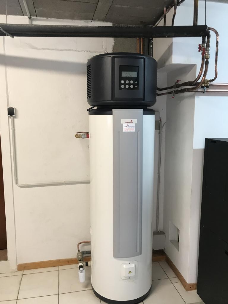 Pose chauffe eau thermodynamique 21