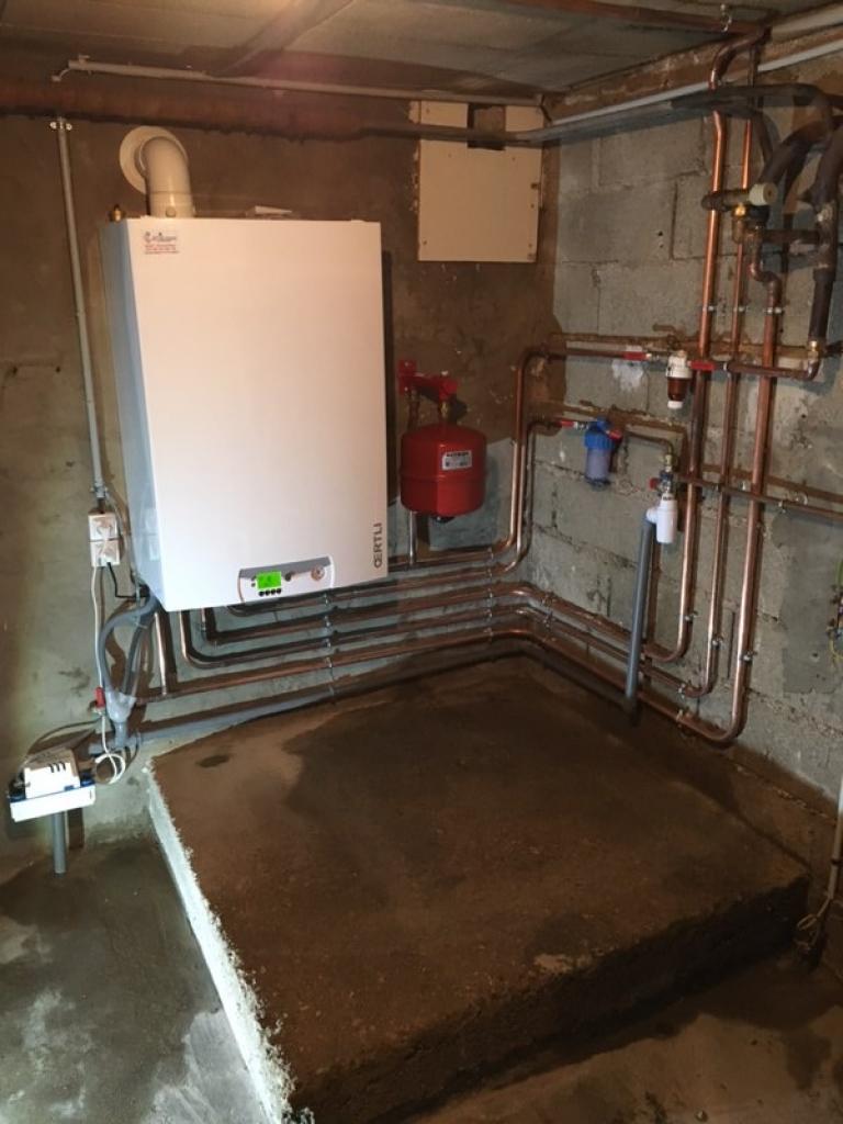 Pose chaudiere gaz condensation Cote d'OR RGE