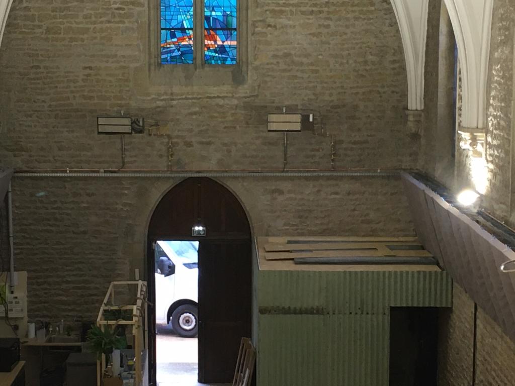 Installation aerothermes  et raccordement gaz Dijon