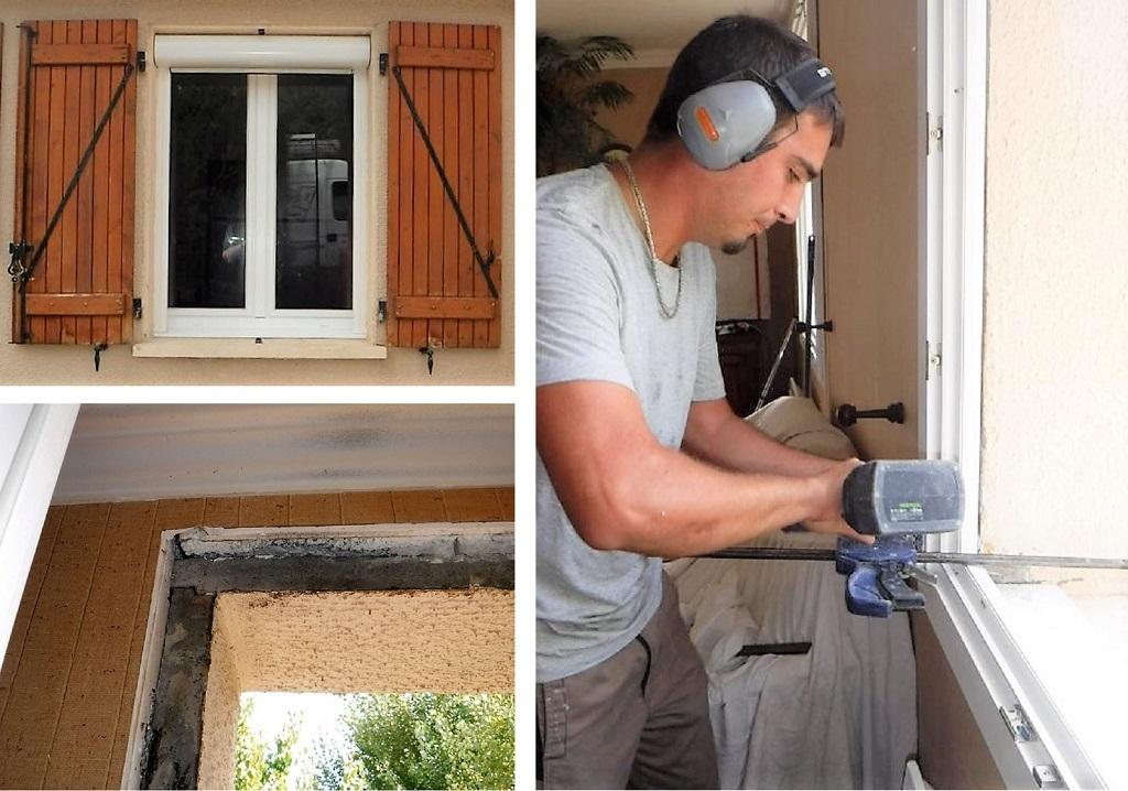 Notre réalisation -   Rénovation fenêtres et rénovation volets roulants Millau