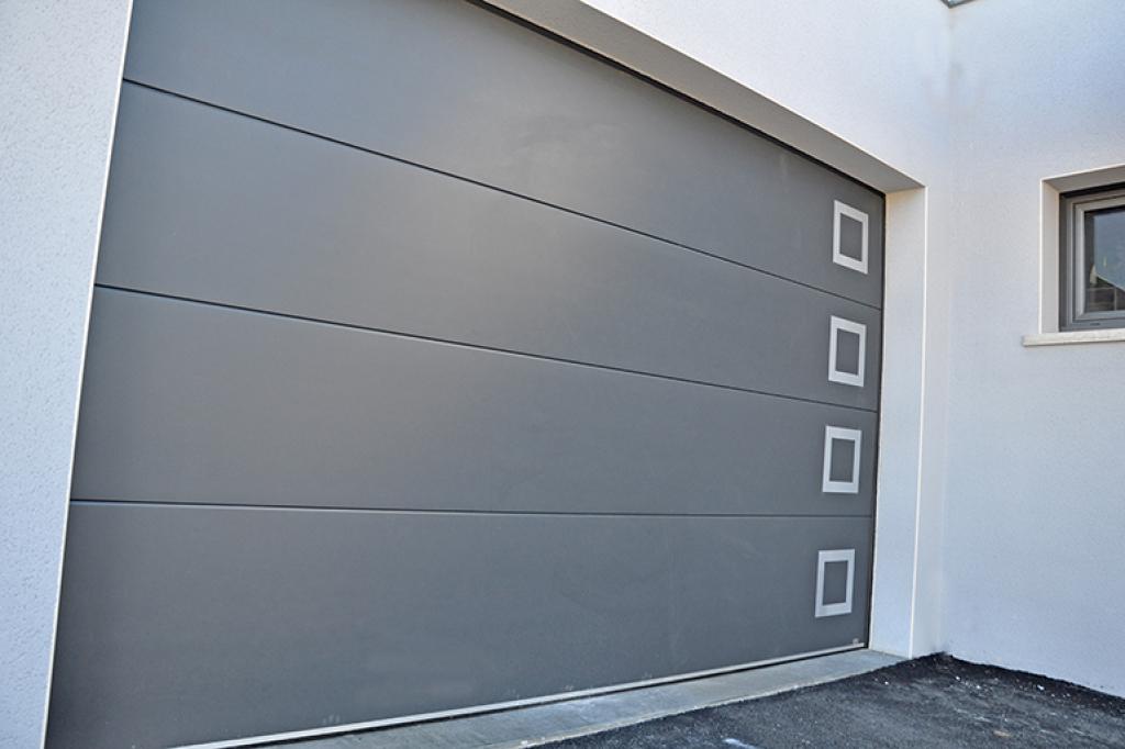 Produit catalogue ISEA - Porte de garage sectionnel Millau