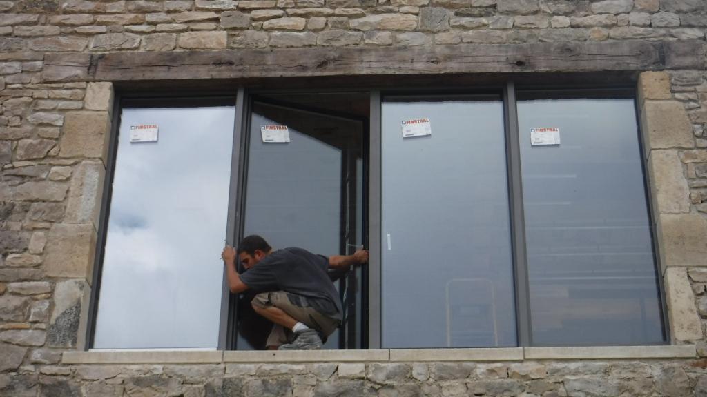 Notre réalisation - pose fenêtre rénovation Millau