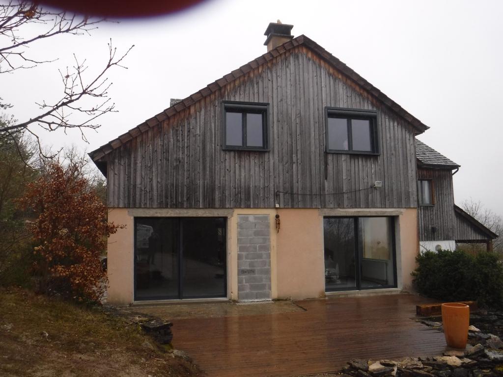 Notre réalisation : Installation fenêtres aluminium en rénovation