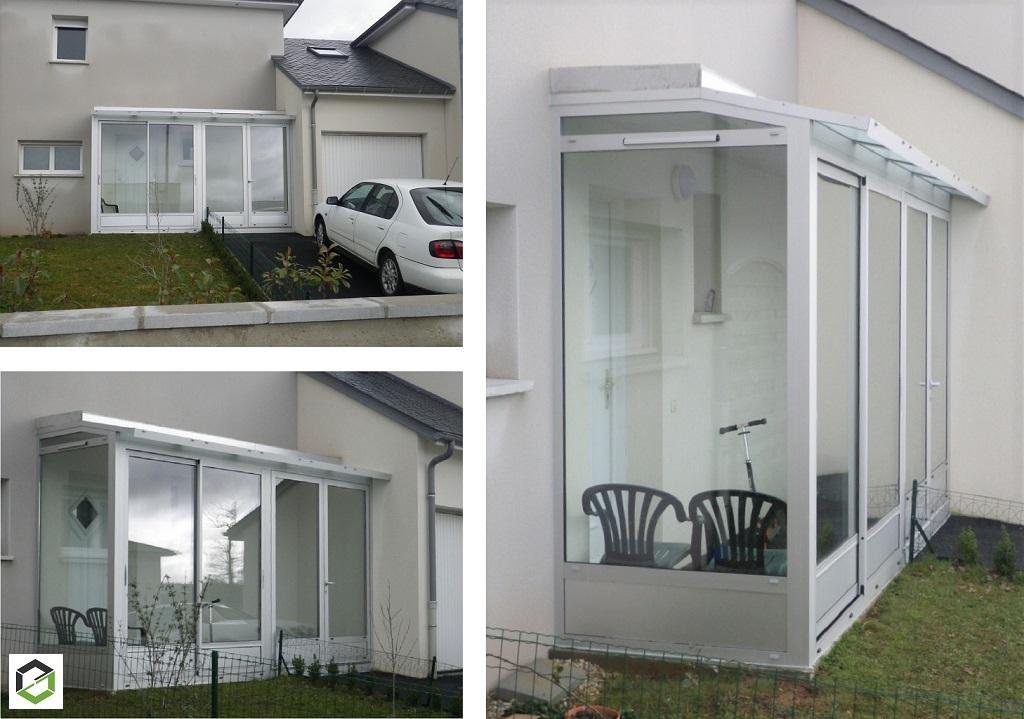 Notre réalisation : installation d'une Mini Veranda