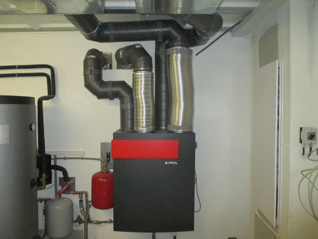 Installation d'une VMC double Flux Paul Novus 400-Hautes Alpes (05)
