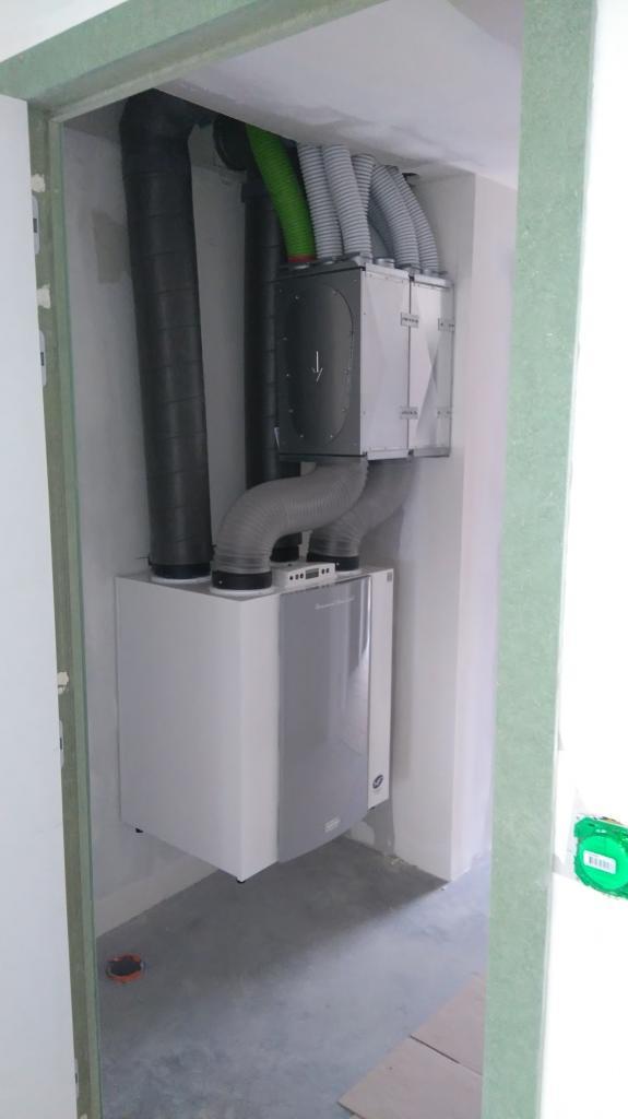 Installation d'une Ventilation Double Flux