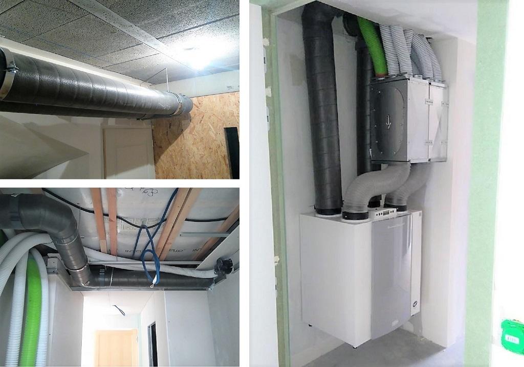 Installation d'une Ventilation Double Flux-Isère (38)