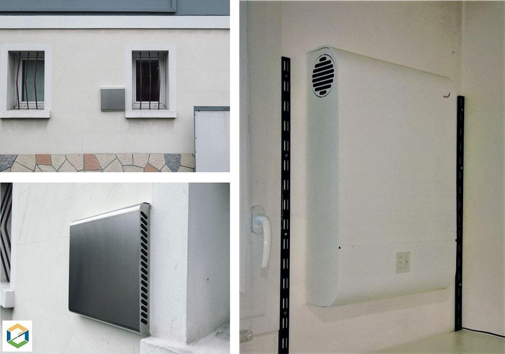 Installation d'une VMC double flux dans un studio - Grenoble-Isère (38)