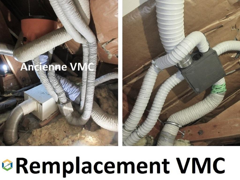 Remplacement VMC simple flux - Grenoble-Isère (38)