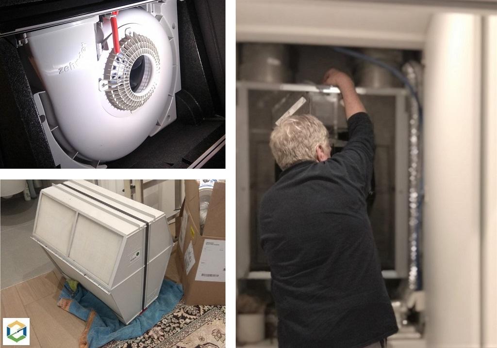 SAV ZEHNDER - Réparation VMC double flux Zehnder - Remplacement d'un moteur - Grenoble-Isère (38)
