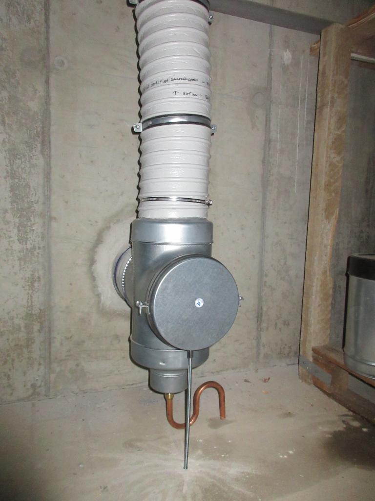 Remplacement d'une centrale VMC double flux - Grenoble