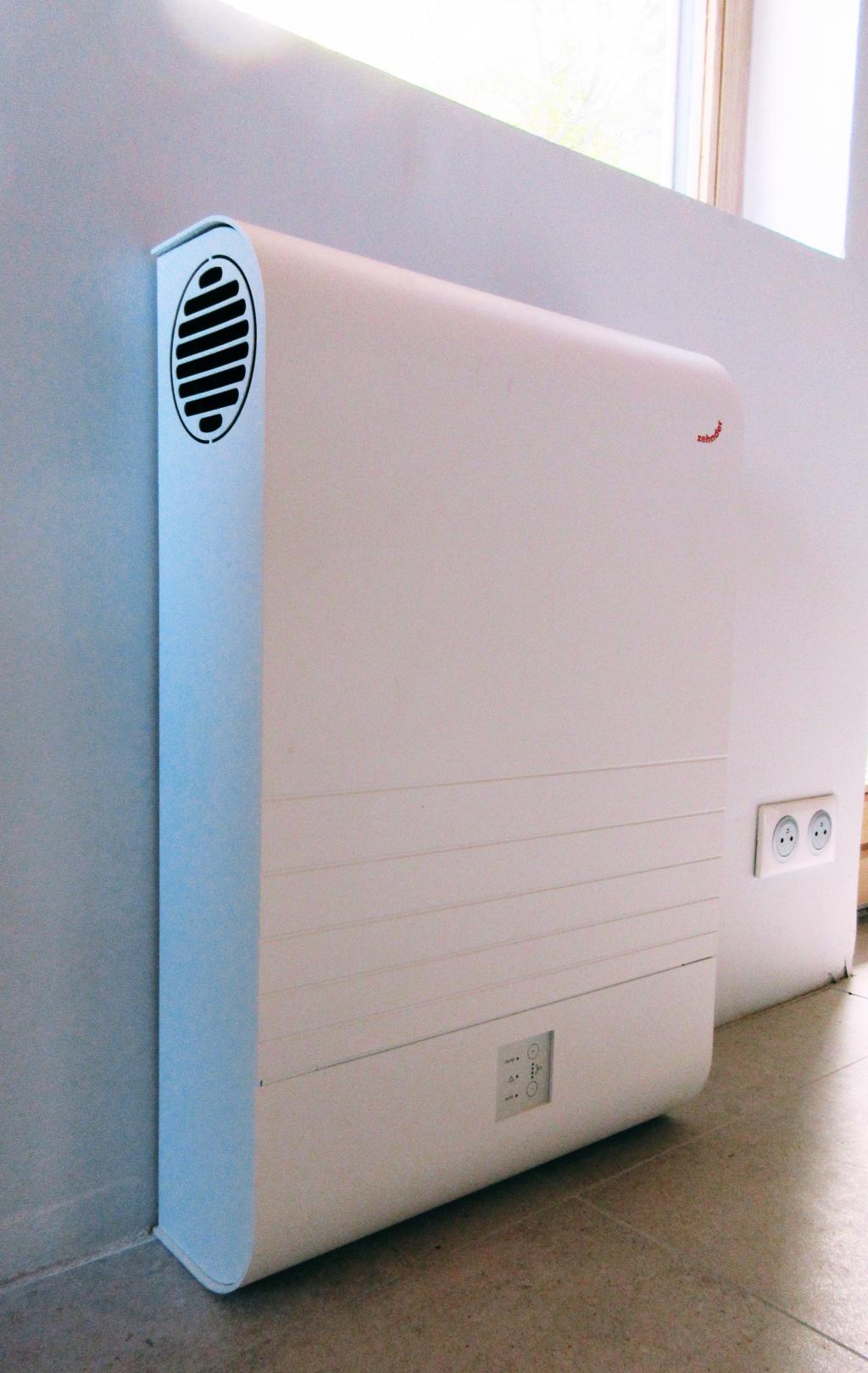 Installation d'une VMC double flux décentralisée ComfoAir70