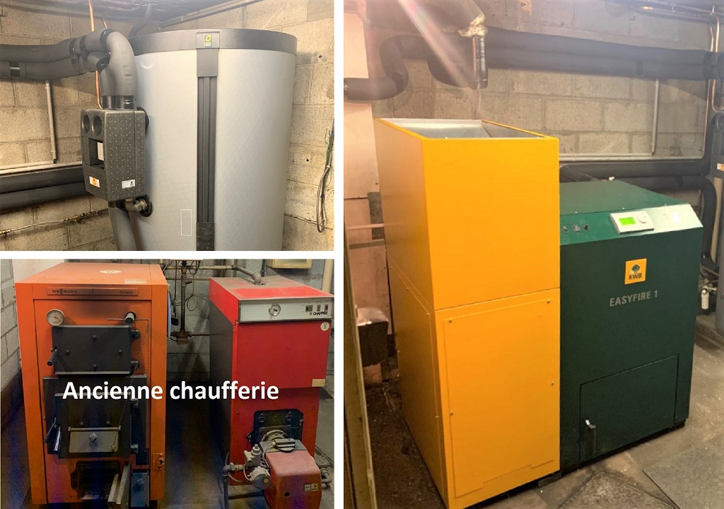 Installation d'une chaudière à granulés de bois KWB 54 Meurthe et Moselle