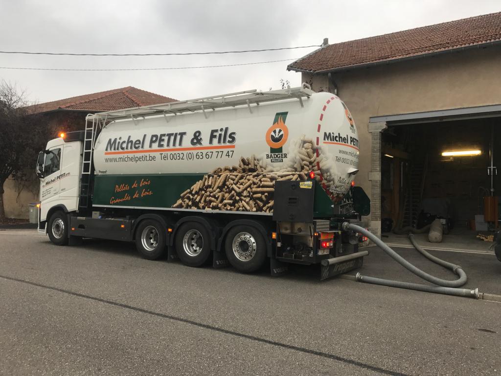 Réalisation d'un silo en OSB pour chaudière à granulés KWB en Meurthe Et Moselle (54)