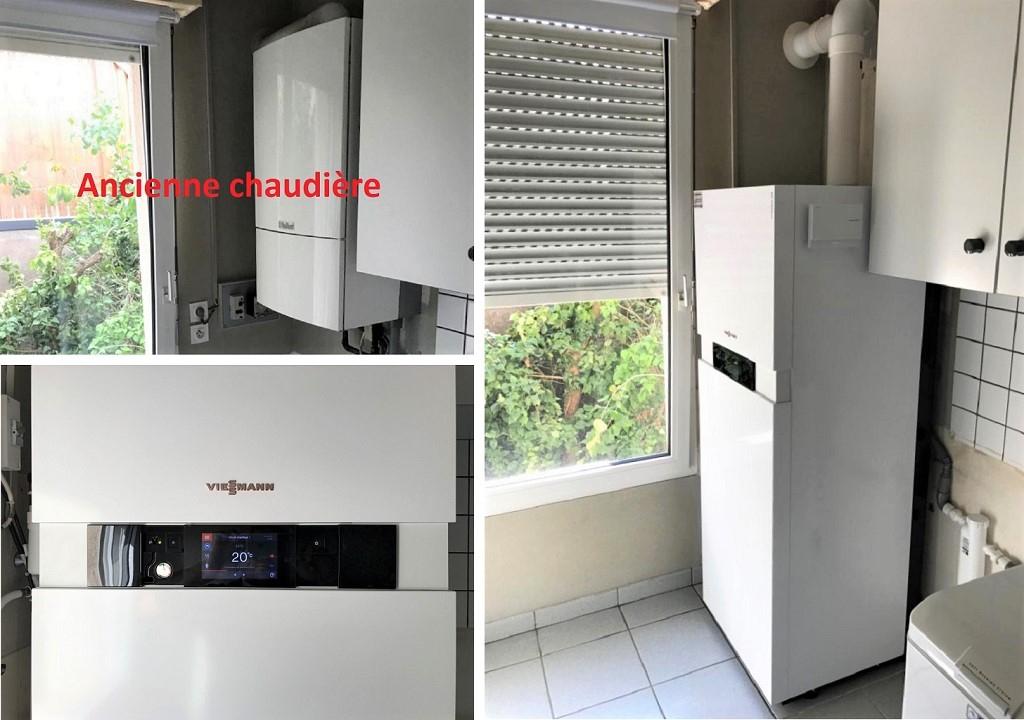 remplacement chaudière gaz condensation Viessmann 54 Meurthe Et Moselle