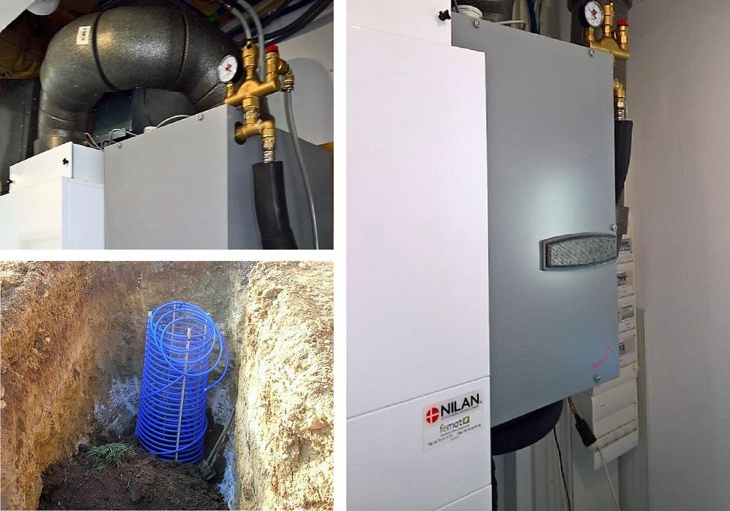 Installation VMC double flux Compact P NILAN