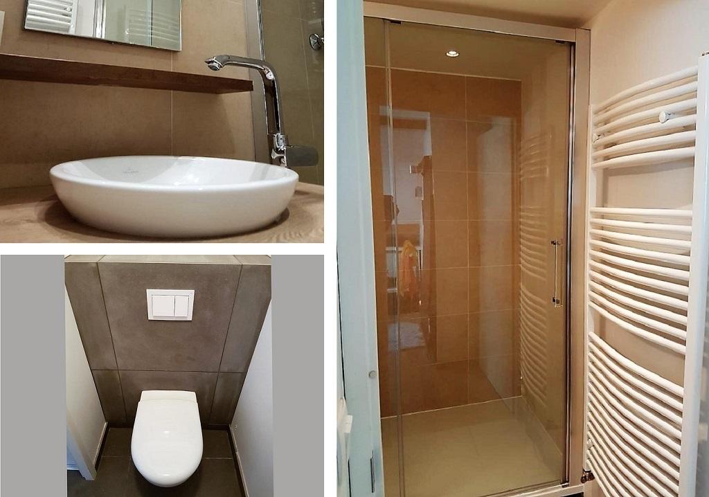 Rénovation de salle de bain d'un appartement