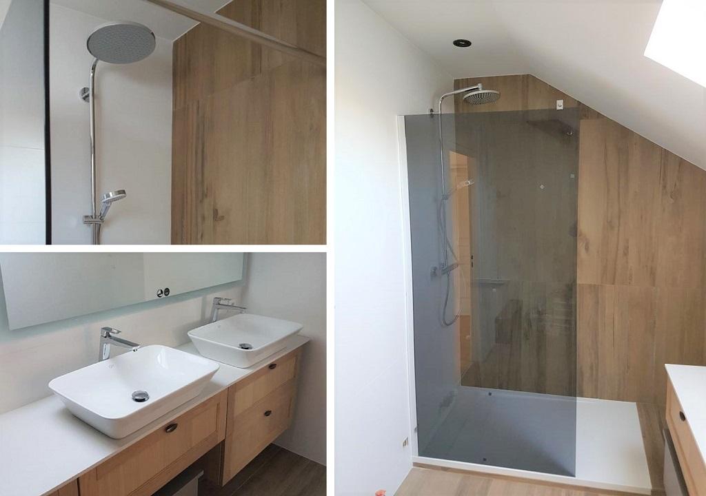 Rénovation d'une salle de bain - entreprise plombier sanitaire