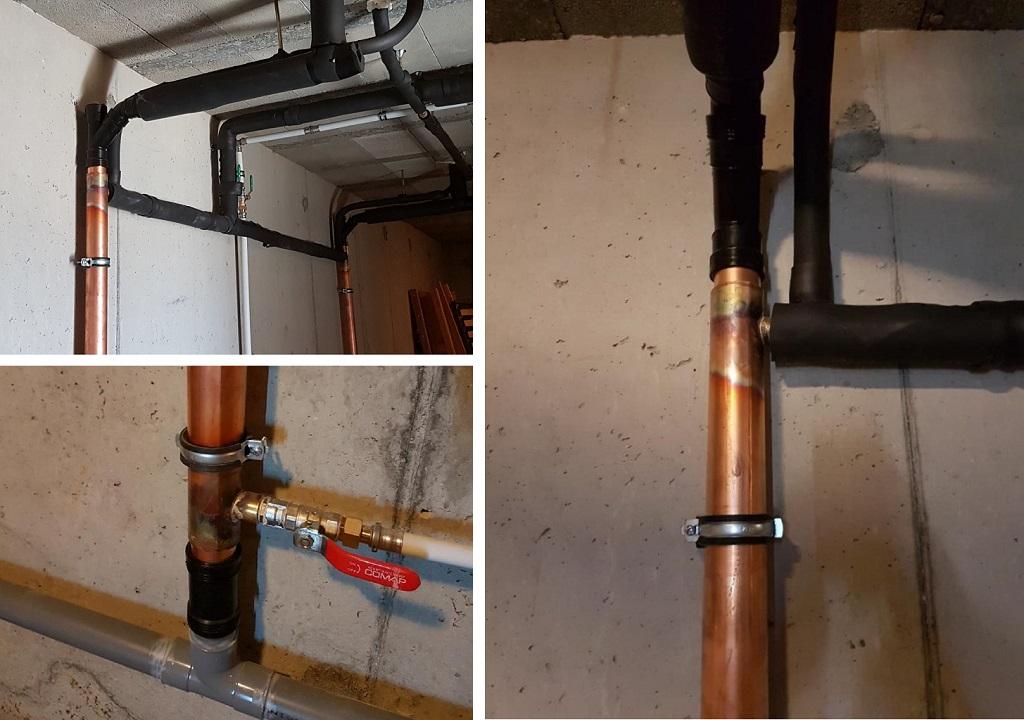 Récupérateur de chaleur sur eau grise - entreprise plombier chauffagiste