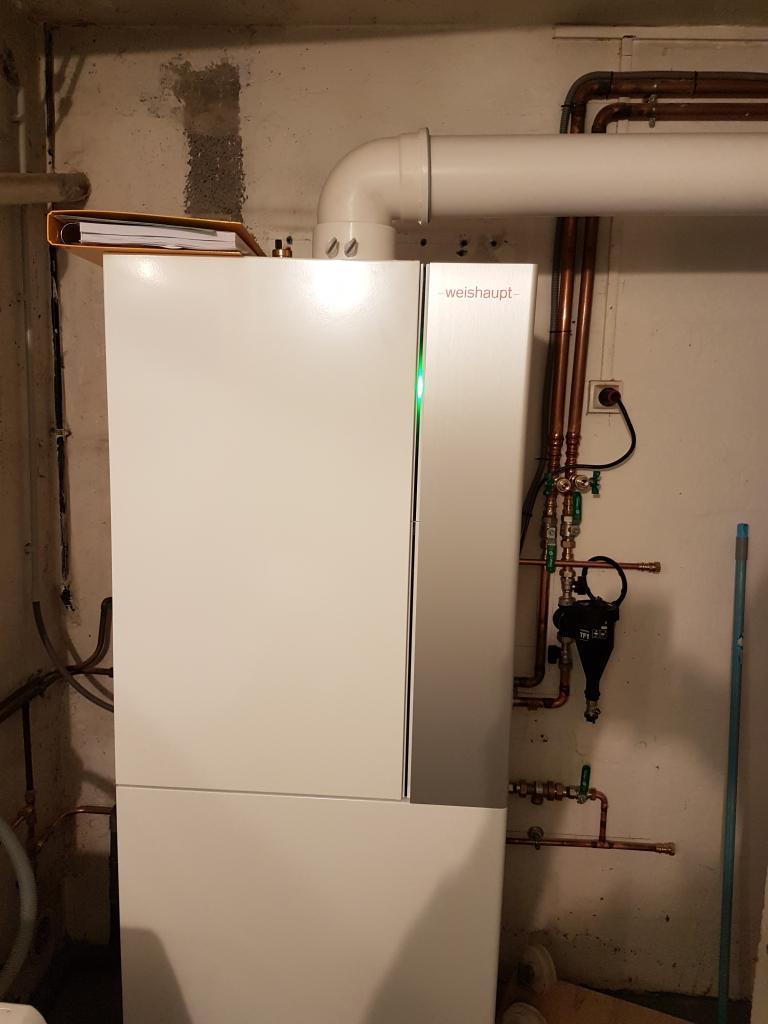 Remplacement d'une chaudière gaz par une condensation