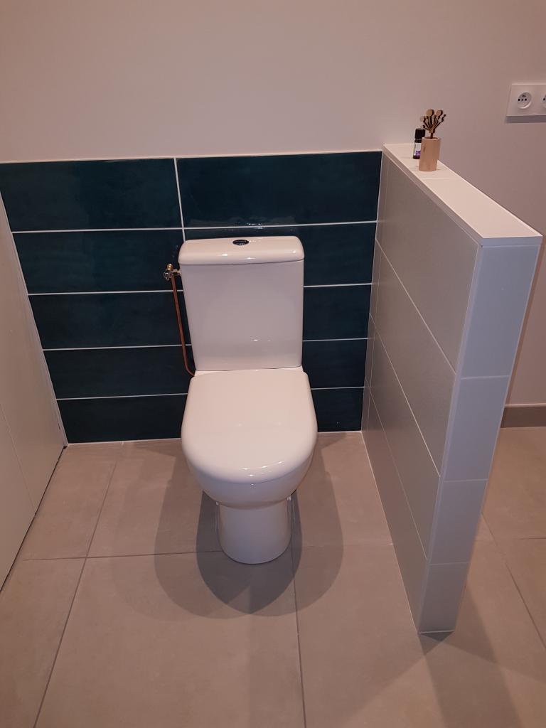 Rénovation d'une salle de bain.