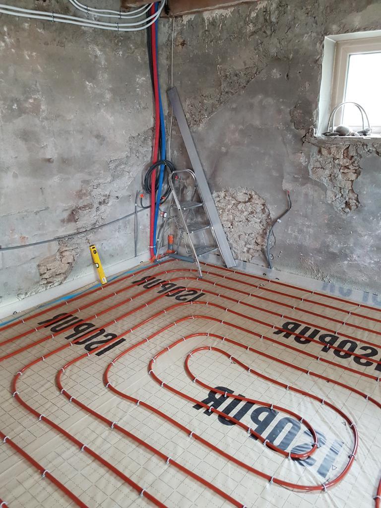 Entreprise RGE - Installation Plancher chauffant hydraulique