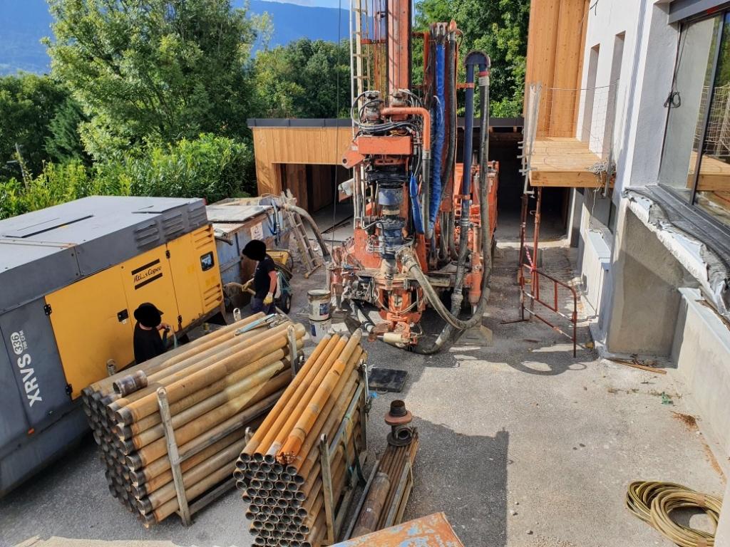 Entreprise RGE QualiPAC - Forage géothermique