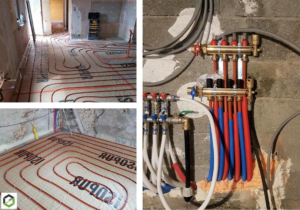 Entreprise RGE - Installation Plancher chauffant hydraulique-Isère (38)