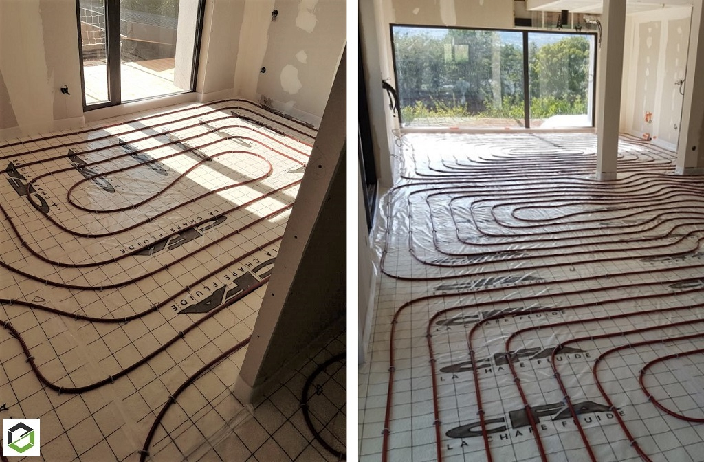 Artisan RGE - installateur de plancher chauffant rafraichissant.-Savoie (73)