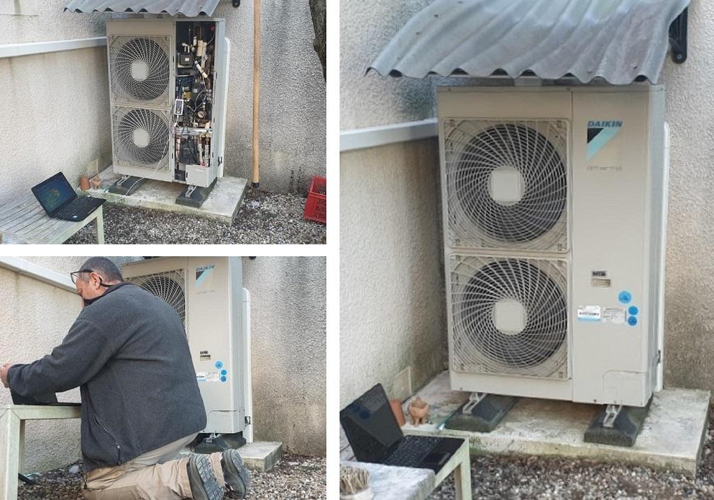 Mise en place d'un enregistreur de qualité de réseau EDF (Gard) 30