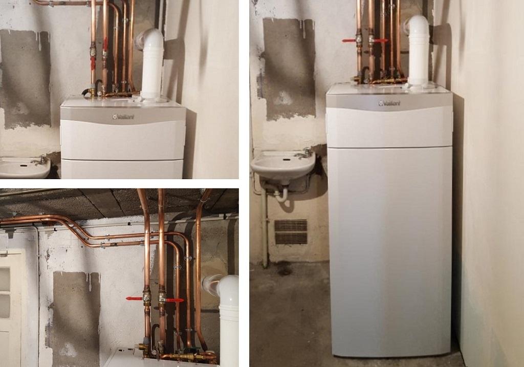 Installation chaudière gaz condensation Vaillant-Val d'Oise (95)