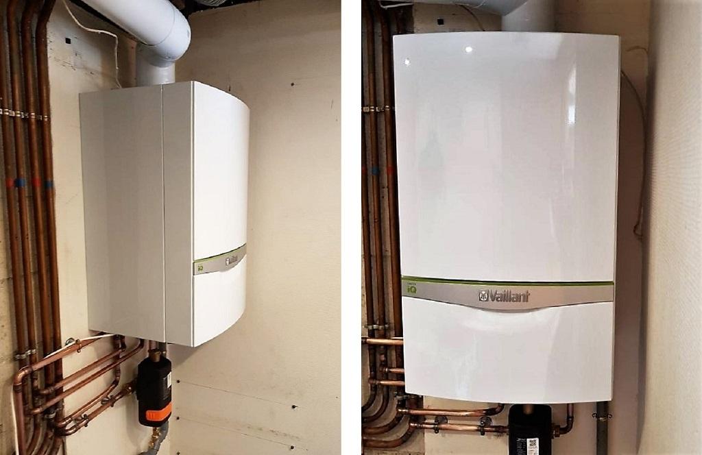 Installation chaudière VAILLANT gaz condensation connectée