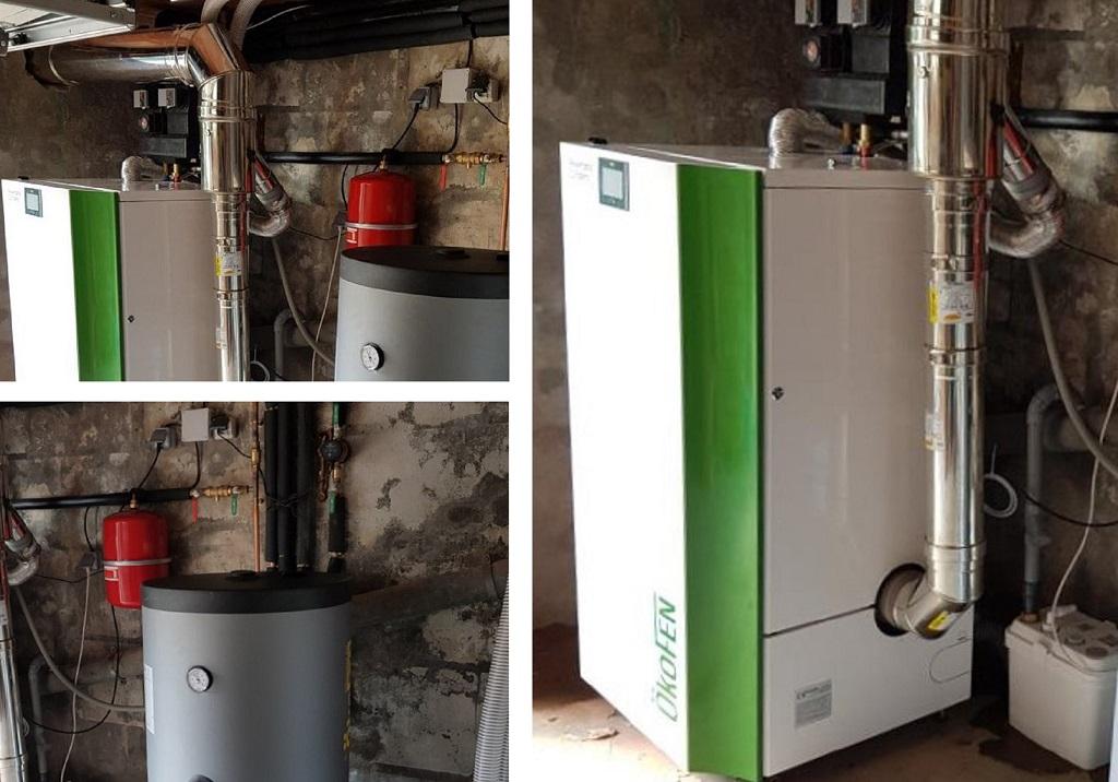 Chaudière condensation à granulés de bois pellets ÖKOFEN val d'OIse 95