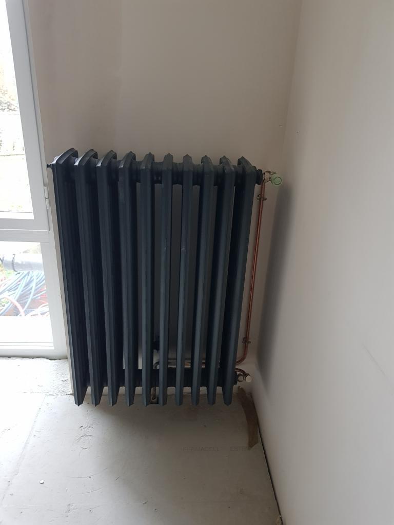 Installation d'un réseau de chauffage complet-Yvelines (78)