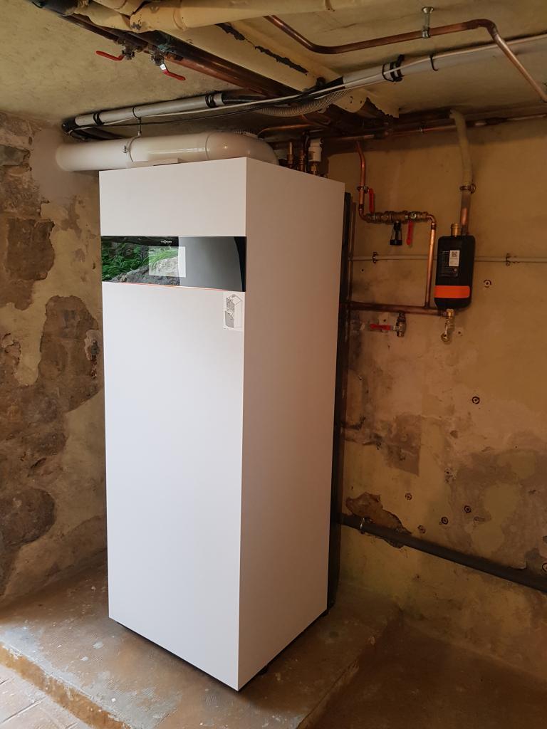 Chaudière gaz condensation VIESSMANN à US 95 Val d'Oise-Val d'Oise (95)