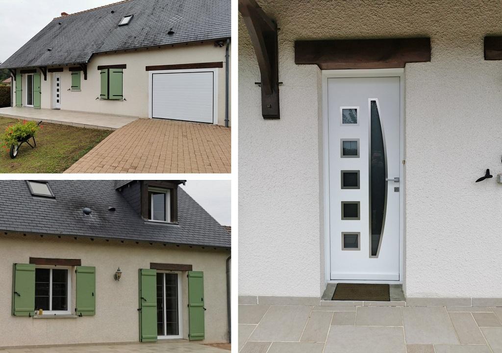 Rénovation menuiseries extérieures (fenêtres, volets, portes)