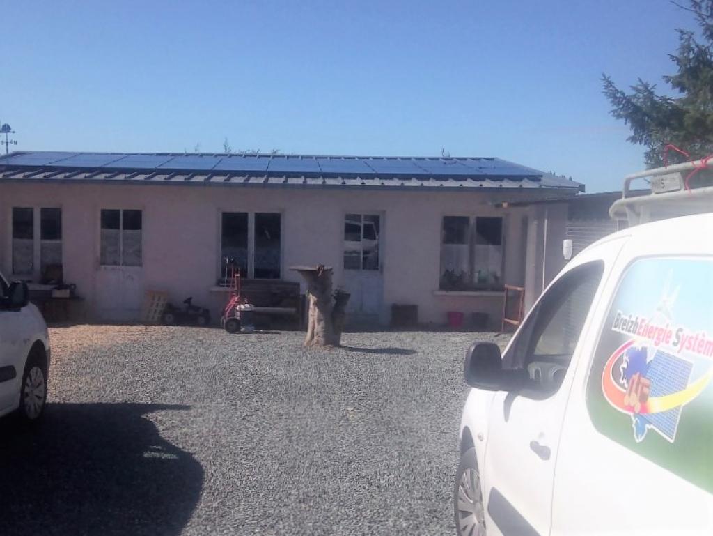 Installation panneaux solaires phovoltaiques 6 KW en autoconsommation